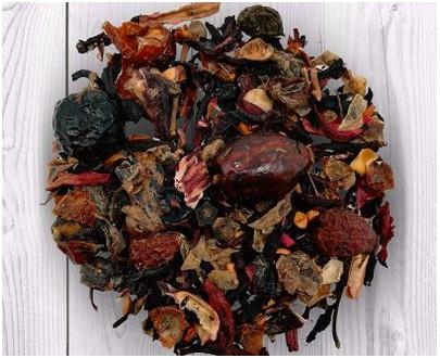 Vedda - blackcurrant tea - 75gr