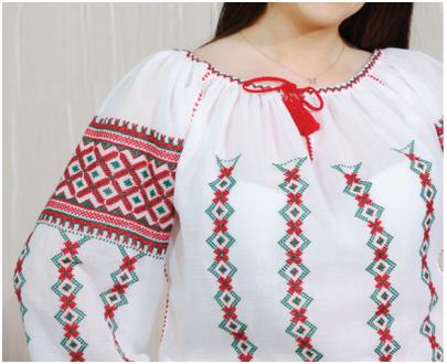 "Romania Blouse -women - ""Mehedinți"""