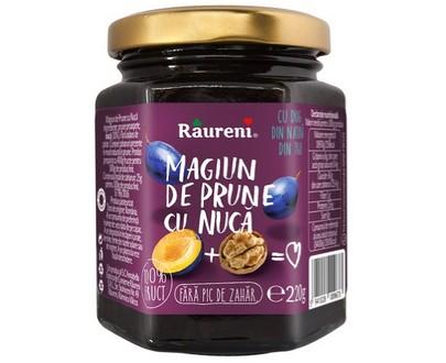 lot de 6x220g Magiun de prunes aux noix - Raureni