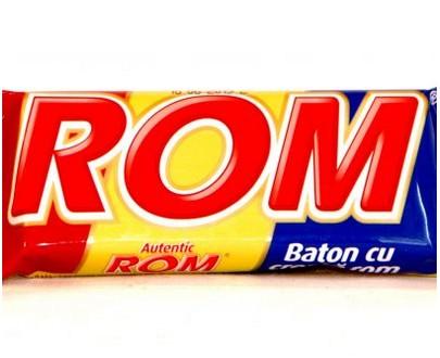 rom baton cu ciocolata