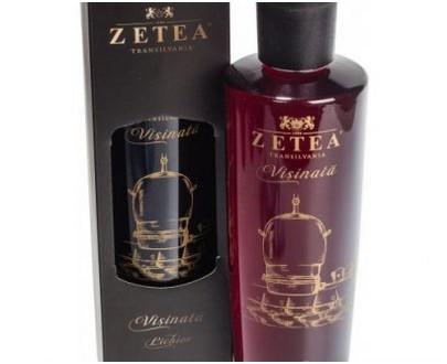 """Liqueur de griottes """"VISINATA"""" - ZETEA - 750ml"""