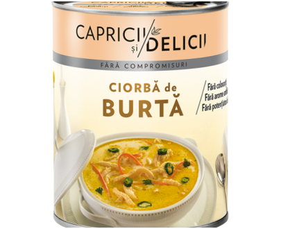 Capricii si Delicii - Tripe soup with garlic and sour cream - 400gr
