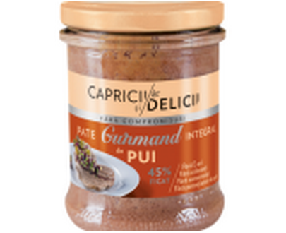 Gurmand chicken pate - Capricii si delicii - 180g