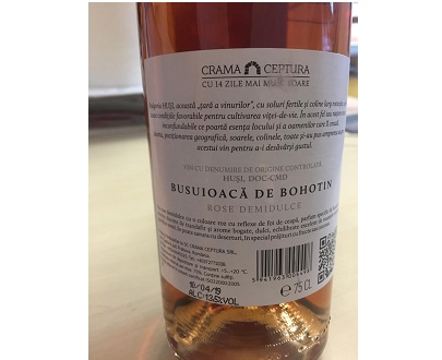 Vin Busuioaca de Bohotin - CEPTURA - 750ml