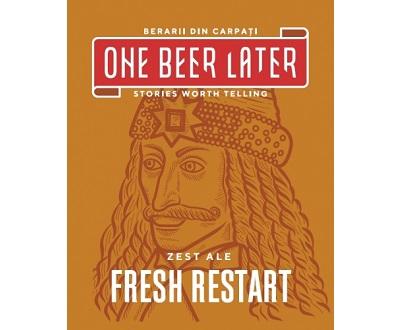fresh restart zest ale biere artisanale de Roumanie