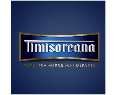 Bière blonde Timisoreana - 500ml