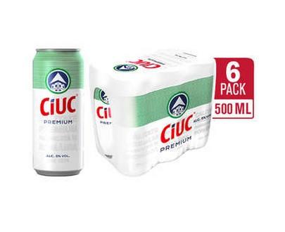Bière blonde premium CIUC - 500ml - 6 pack