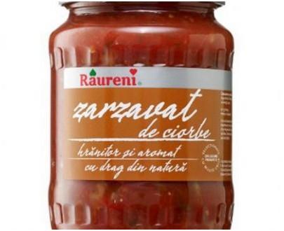 Zarzavat de légumes pour la Ciorba - Raureni - 700g