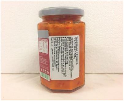 Set cu 6x300g Raureni zacusca taraneasca - etiquette
