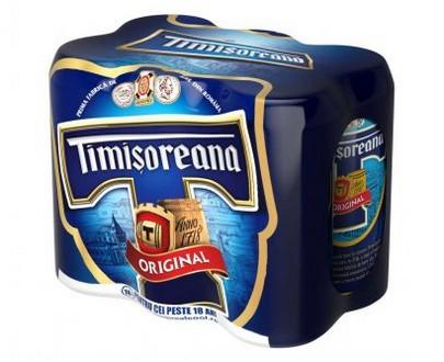 Bière blonde Timisoreana - 6x500ml - 6 Pack