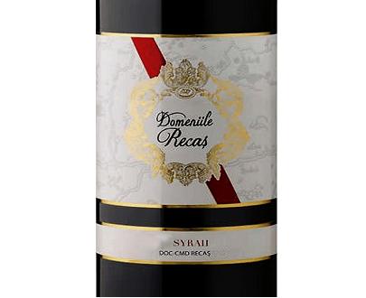 Red Wine Syrah Domeniile Recas 2019