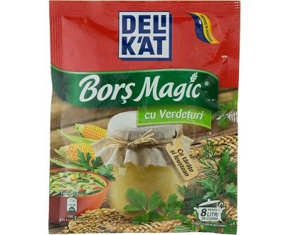 Delikat bors magic verdeturi 65gcondiment bucatarie cuisine roumaine