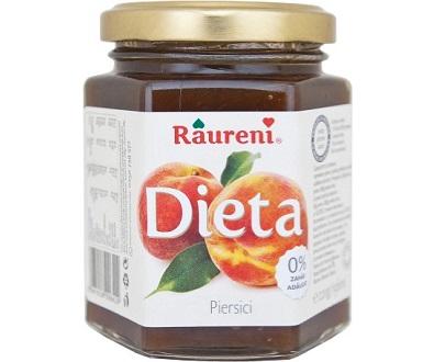 Confiture de pêches diététique diet peach jam