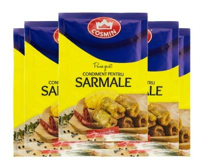 Condiment choux farcis sarmale Stuffed cabbage seasoning - COSMIN - 20g