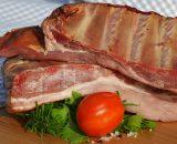 cote deporc fumée coasta de porc afumata smoked pork ribs roumanie romania