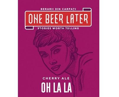 One beer later oh la la cherry ale bière artisanale roumaine