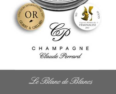 champagne blanc de blancs claue perrard