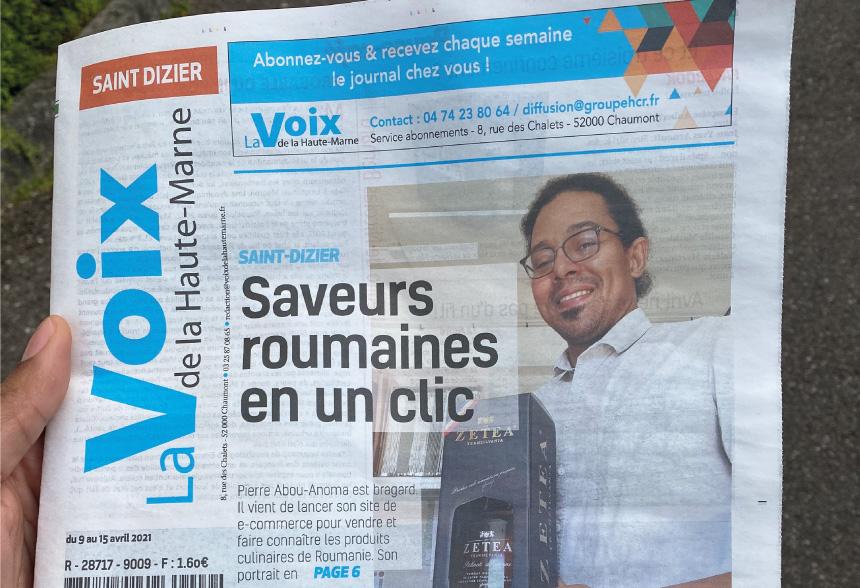 La Voix de la Haute Marne – 09/04/2021